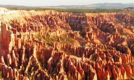 каньон bryce обозревает Стоковые Изображения RF
