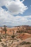 Каньон Bryce Hoodoos ландшафт пустыни Стоковое фото RF