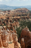 Каньон Bryce Hoodoos ландшафт пустыни Стоковое Изображение RF