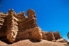 Каньон Charyn стоковое изображение rf