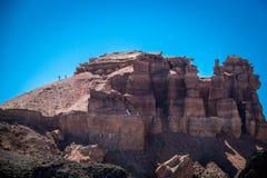 Каньон Charyn стоковое изображение