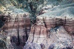 Каньон Charyn kazakhstan Стоковое Изображение RF