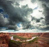 каньон chelly Стоковая Фотография