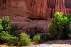 каньон chelly de дом губит белизну Стоковое Изображение RF
