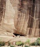 каньон chelly de дом губит белизну Стоковые Изображения
