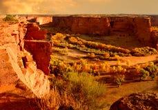 каньон chelly de Стоковые Фотографии RF