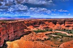 каньон chelly de Стоковое фото RF