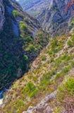 Каньон Cikola реки стоковое фото