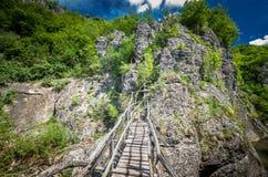 Каньон Emen, Болгария стоковые фото