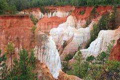 каньон Georgia южное Стоковые Изображения