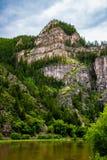 Каньон Glenwood в Колорадо Стоковое фото RF