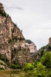 Каньон Glenwood в Колорадо Стоковая Фотография RF