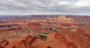 Каньон Green River Стоковое Изображение