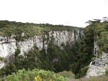 Каньон Itaimbezinho - Бразилия Стоковое Фото