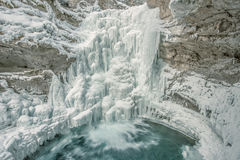 Каньон Johnston в Banff Стоковое Изображение RF