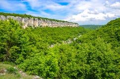 Каньон Negovanka, Болгария Стоковые Изображения