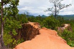 Каньон Pai, провинция Mae Hong Son, Таиланд стоковое фото rf