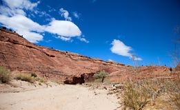 Каньон Paria Стоковая Фотография RF