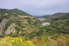 Каньон Raganello стоковые изображения rf