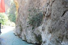 каньон saklikent стоковая фотография rf