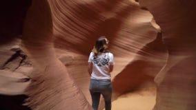 Каньон Sandy скалистый сток-видео
