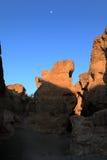 Каньон sesriem в Намибии Стоковое Изображение