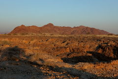 Каньон sesriem в Намибии Стоковая Фотография RF