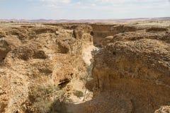 Каньон Sesriem, Намибия Стоковая Фотография RF