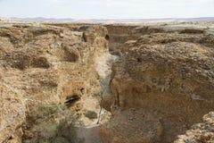 Каньон Sesriem, Намибия Стоковые Изображения RF