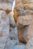 Каньон Sesriem около Sossusvlei Намибия Стоковые Изображения RF