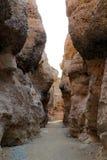 Каньон Sesriem - Sossusvlei - Намибия Африка стоковые фотографии rf