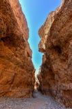 Каньон Sesriem - Sossusvlei, Намибия Стоковые Изображения