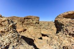Каньон Sesriem - Sossusvlei, Намибия Стоковое фото RF