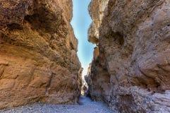 Каньон Sesriem - Sossusvlei, Намибия Стоковая Фотография