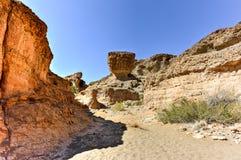 Каньон Sesriem - Sossusvlei, Намибия Стоковая Фотография RF