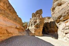 Каньон Sesriem - Sossusvlei, Намибия Стоковое Фото