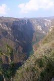 Каньон Sumidero, Чьяпас, Мексика стоковое изображение rf