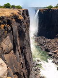 Каньон Victoria Falls стоковое изображение rf