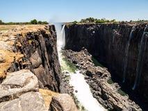 Каньон Victoria Falls стоковое фото rf