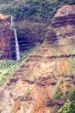 Каньон Waimea, Кауаи, Гаваи, США стоковое изображение