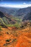 Каньон Waimea - Кауаи - Гаваи Стоковая Фотография RF