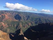 Каньон Waimea на острове Кауаи, Гаваи Стоковые Изображения RF
