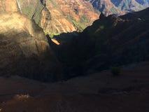 Каньон Waimea на острове Кауаи, Гаваи Стоковое Изображение RF