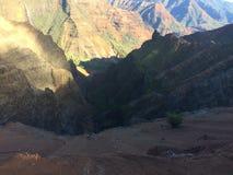 Каньон Waimea на острове Кауаи, Гаваи Стоковые Фотографии RF
