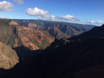Каньон Waimea на острове Кауаи, Гаваи Стоковые Изображения