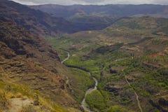 Каньон Waimea Стоковые Изображения RF