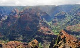 Каньон Waimea Стоковое фото RF