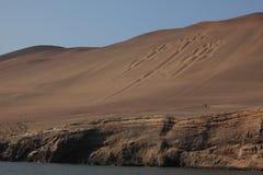 Канделябры Paracas стоковые изображения rf
