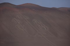 Канделябры Paracas стоковое изображение rf