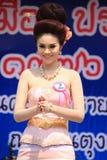 Кандидат для госпожи Songkran 2014 стоковые изображения rf